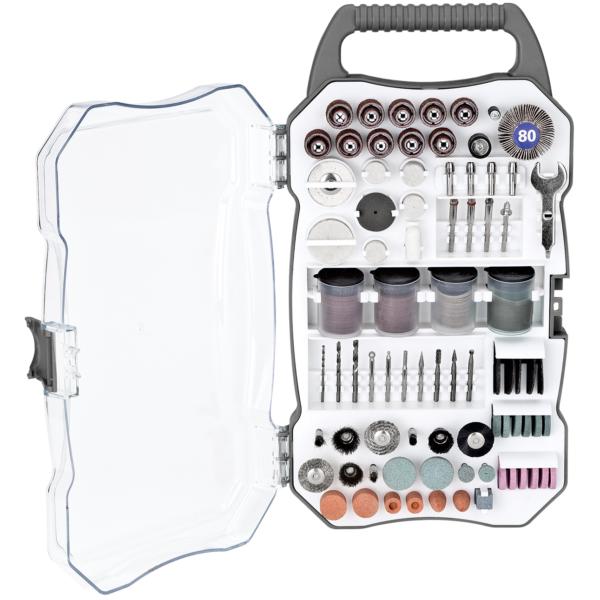 208-Piece Rotary Tool Accessory Set