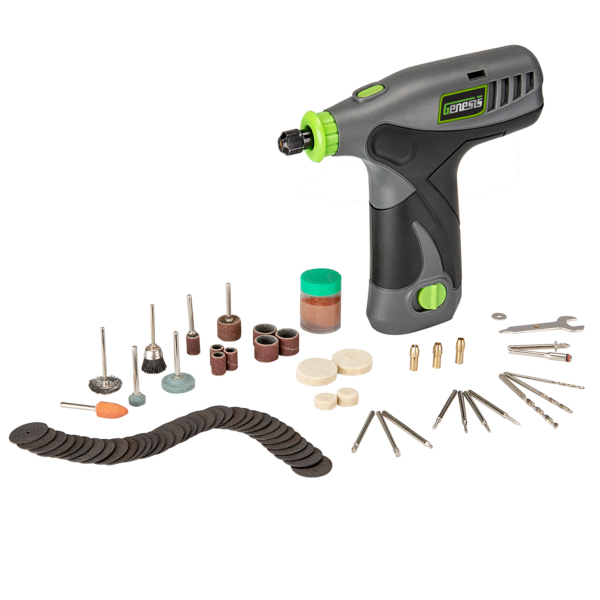 8V Lithium-Ion Rotary Tool with 65 Accessories