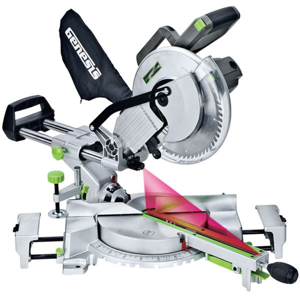 "15 AMP 10"" Sliding Compound Miter Saw With Laser"